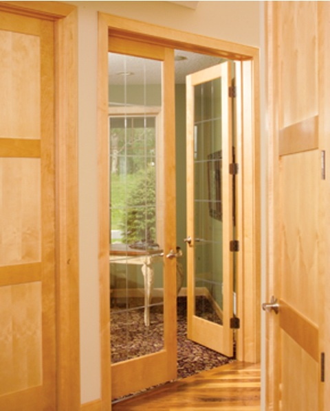 Interior french doors bayer built woodworks for Interior french doors