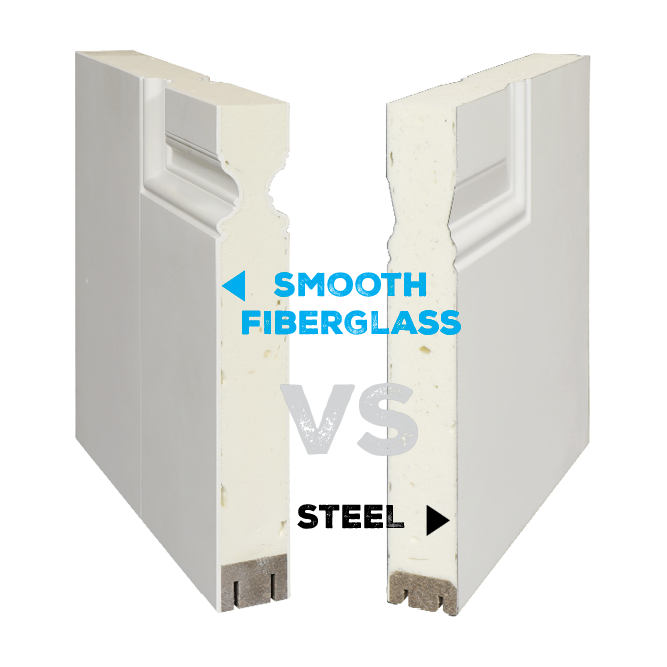 Smooth Fiberglass Vs. Steel