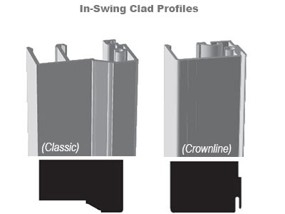 InSwing Clad Profiles