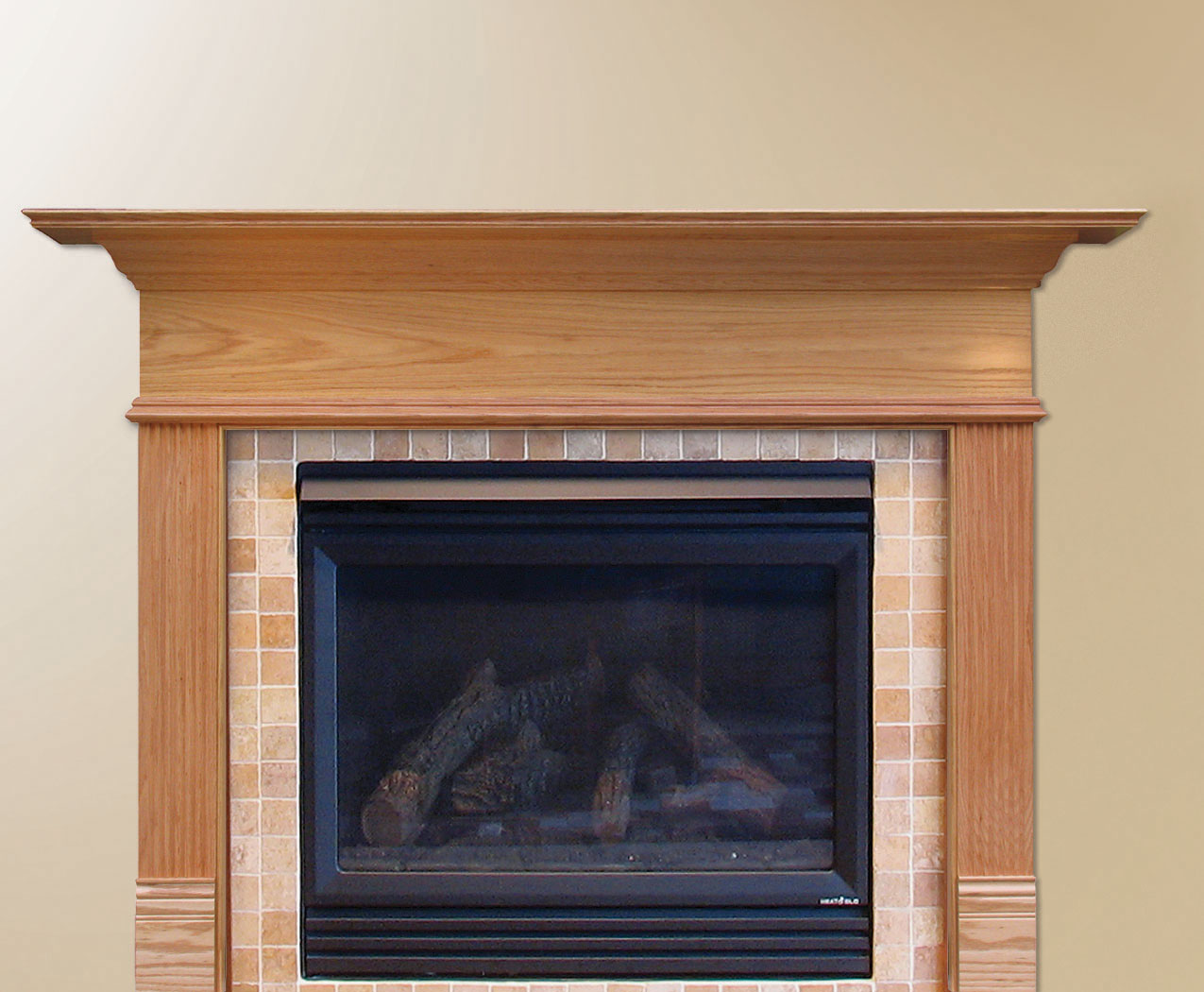 Wood mantel ideas