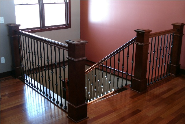 Post to stair systems minnesota bayer built woodworks