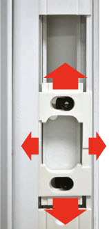 Acclimated Entry System Features