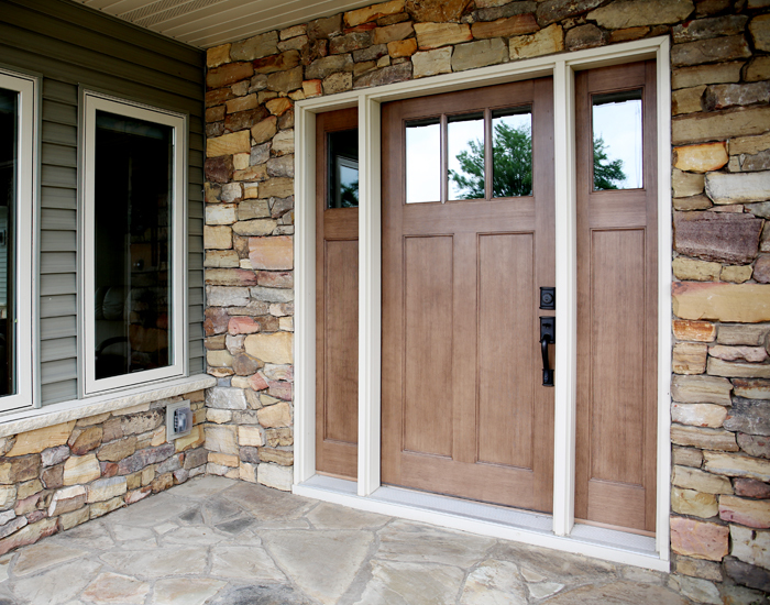 Exterior doors bayer built woodworks minnesota - Exterior doors that open to the outside ...