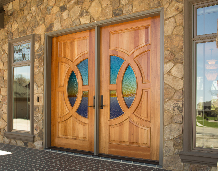 Exterior products minnesota bayer built woodworks for Special order doors