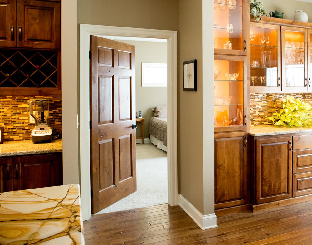 Charming Interior Door Features
