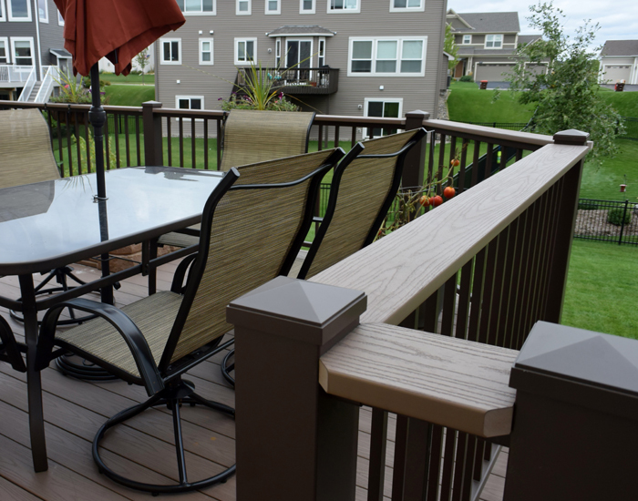 black aluminum deck railing baluster spindles menards exterior series
