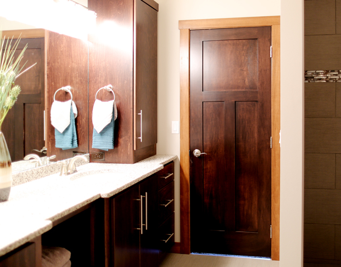 Interior Door Options Minnesota Bayer Built Woodworks