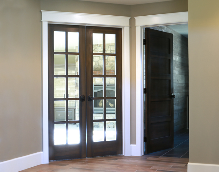 Interior Door Options Minnesota Bayer Built Woodworks