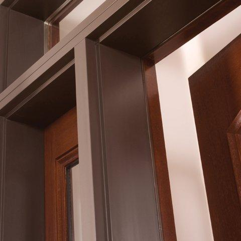 Fiberglass Front Doors on Mouseover To View Frame Options