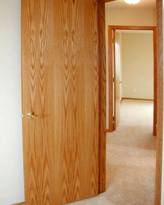 Flush doors bayer built woodworks minnesota Flush interior wood doors