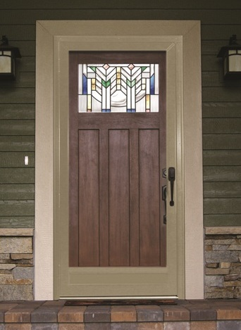Bayer built news for Front door with storm door